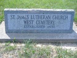 Saint James Lutheran West Cemetery