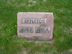 Laura B <I>DeFord</I> Appleton