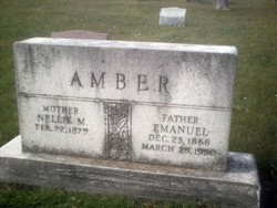 Nellie May <I>Scott</I> Amber