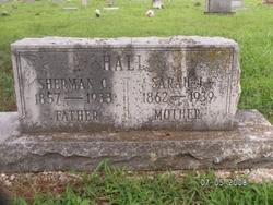 Sarah Jane <I>Owens</I> Hall