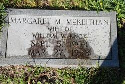 Margaret Marie <I>McKeithan</I> Knox
