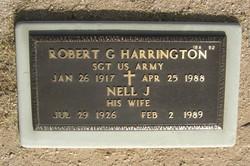 Robert G Harrington
