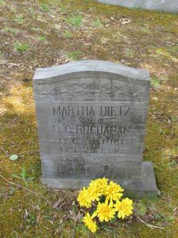 Martha <I>Deitz</I> Buchanan