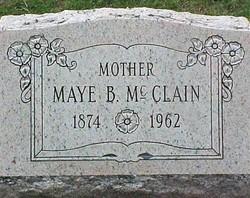 Alma Maye Kessler <I>Baker</I> McClain