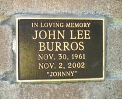 "John Lee ""Johnny"" Burros"
