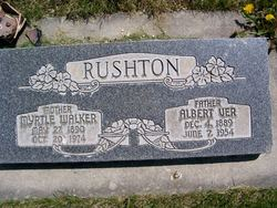 Myrtle <I>Walker</I> Rushton