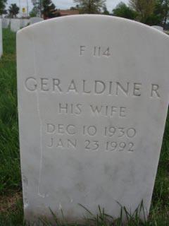 Geraldine R Garrett
