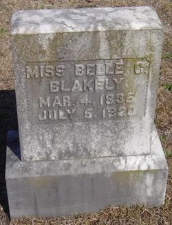 Belle C Blakely