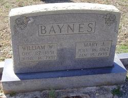 William W Baynes