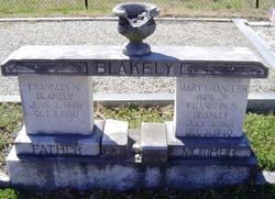 Mary <I>Chandler</I> Blakely