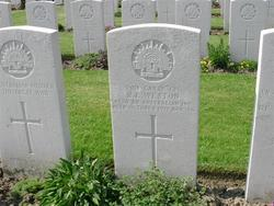 Lance Corporal R E Weston