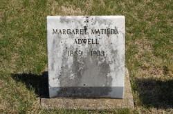 Margaret Matilda Adwell