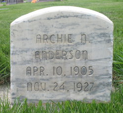 Archie Nathan Anderson