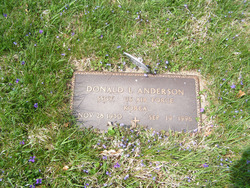 SSGT Donald Lee Anderson