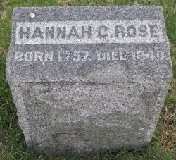 Hannah <I>Chapman</I> Rose