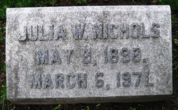 Julia Maria <I>Williams</I> Nichols