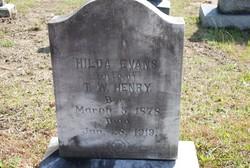 Hilda Elizabeth <I>Evans</I> Henry