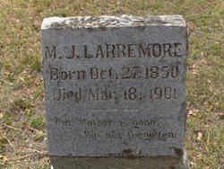 Martha Jane <I>Hughes</I> Larremore