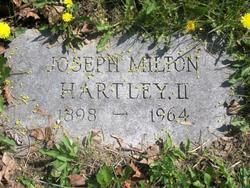 Joseph Milton Hartley, II