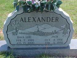 Dava Lou <I>Tiffany</I> Alexander