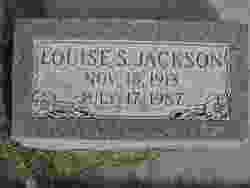 Louise <I>Stephenson</I> Jackson
