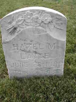 Hazel Amanda <I>Marler</I> Layne
