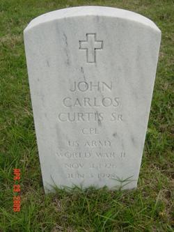 John Carlos Curtis, Sr