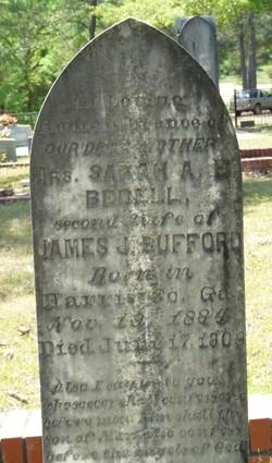 Sarah Ann Elizabeth <I>Bedell</I> Bufford