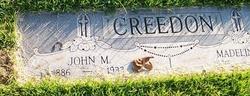 John M Creedon
