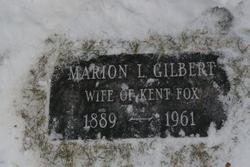 Marion Louise <I>Gilbert</I> Fox