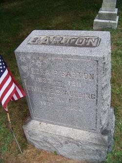 Emily E <I>Spaulding</I> Barton