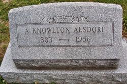 Arthur Knowlton Alsdorf