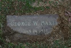 George W Baxter