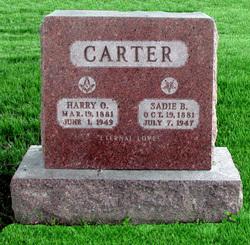 Sadie B. Carter