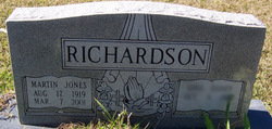 Martin Jones Richardson