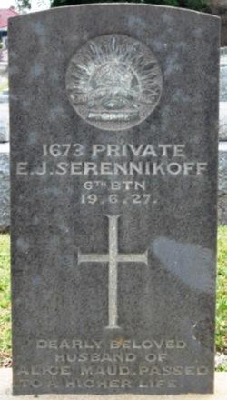 Elias J Serennikoff