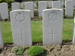 Private William Glen Mudie