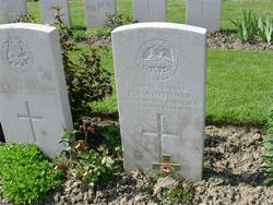Private F A Whithorn