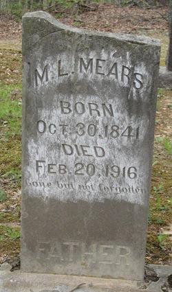 "Marquis Lafayette ""Mark"" Mears"