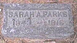 Sarah A. <I>Ramsby</I> Parks