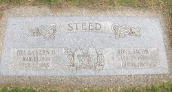 Ida LaVern <I>Howcroft</I> Steed