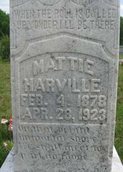 Mattie <I>Rutherford</I> Harville