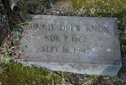 Minnie Irene <I>Drew</I> Knox