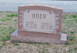 Mabel E. <I>Stanton</I> Hoen