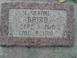 Lawrence Vernal Baird