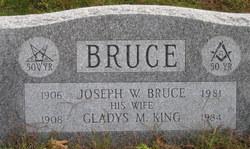 Gladys Margaret <I>King</I> Bruce