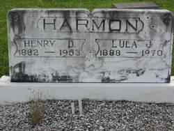 Lula Jane <I>Harris</I> Harmon