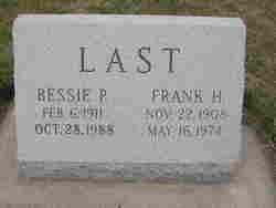 Frank Harold Last