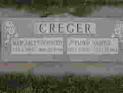 Margaret Eva <I>Bodrero</I> Creger