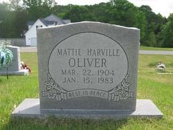 Mattie <I>Harville</I> Oliver